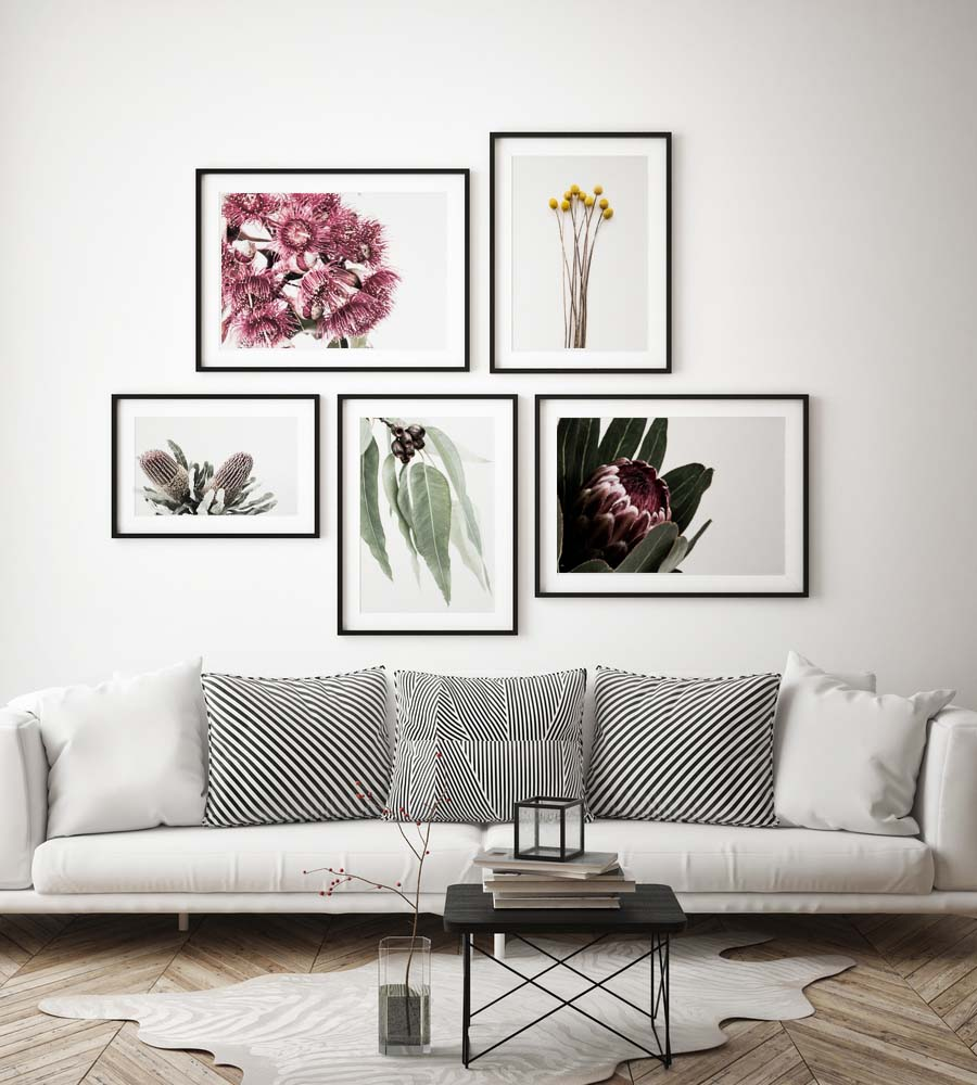 Donna Delaney - Protea Crush Print (various sizes) - norsu interiors