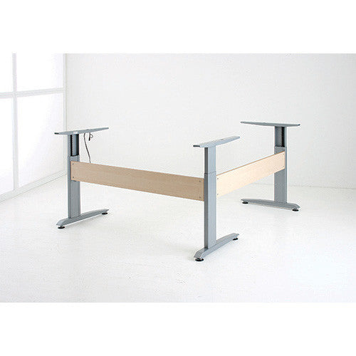 Conset 501-16 L Shape Adjustable Electric Standing Desk Package