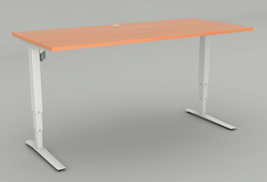 Conset 501-43 Square leg desk set - includes 1800mm desktop, delivery and installation