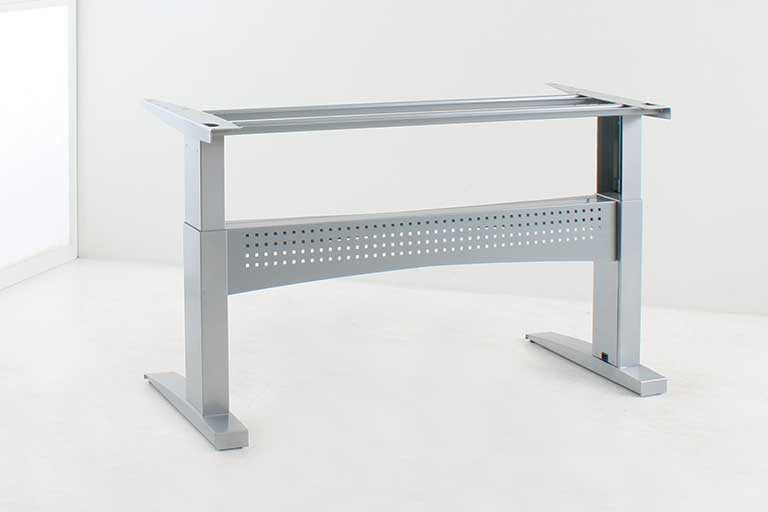 Conset 501-11 Heavy Duty Desk Frame - Available in Silver