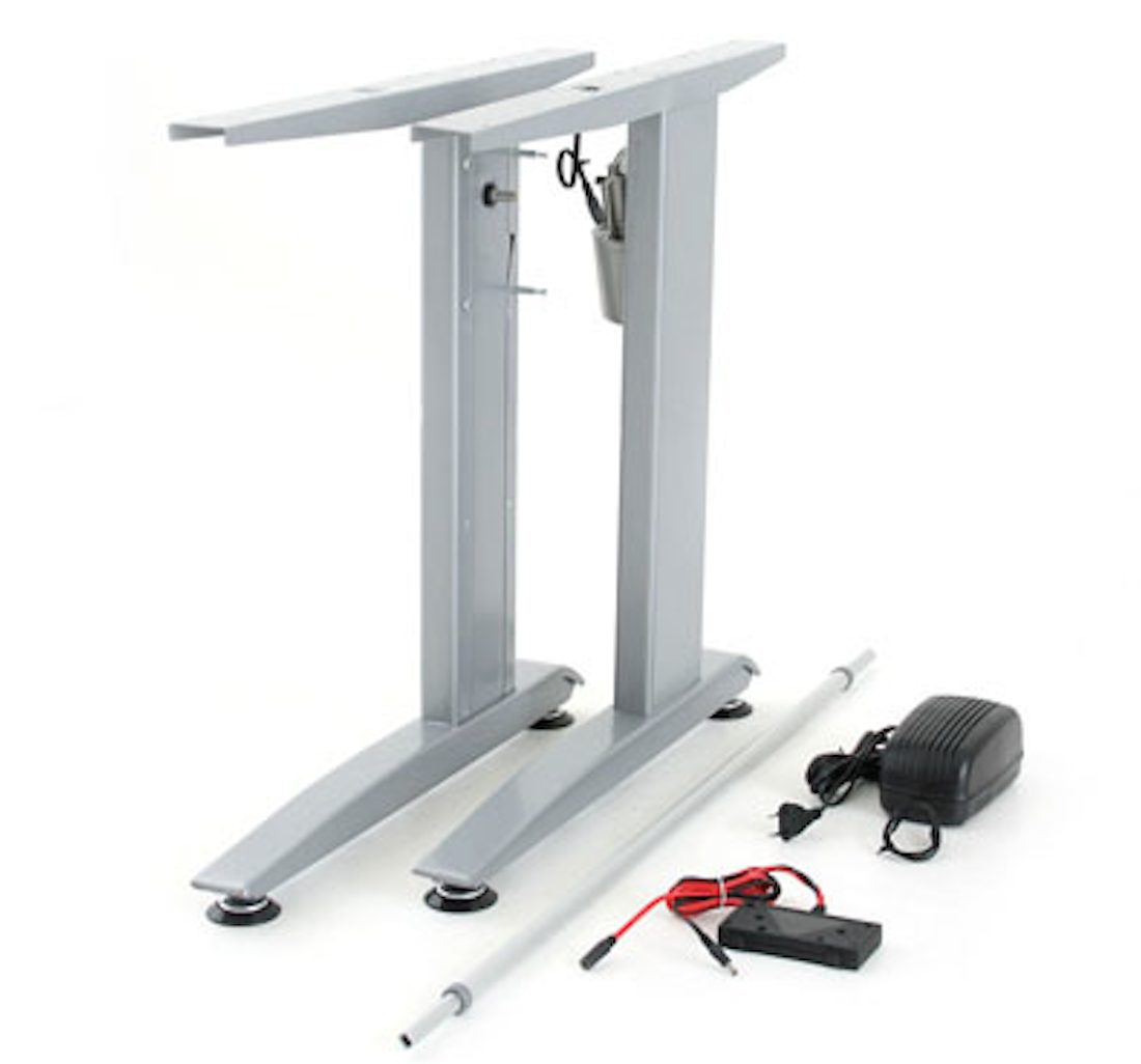 Conset 501-15, 3 Leg Adjustable Electric Standing Desk Frame Only