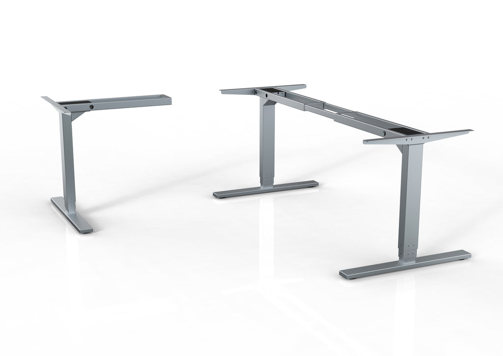 Programmable Height Adjustable Desk L shape Frame - Save up to 4 positions