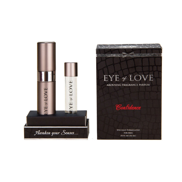 Eye of Love Pheromone Parfum .54oz – Confidence