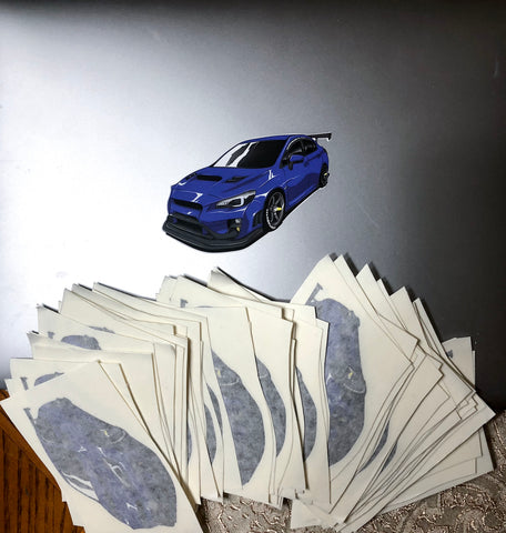 Subiepau Sticker Slaps