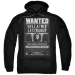 Harry Potter Wanted Bellatrix Poster Hoodie
