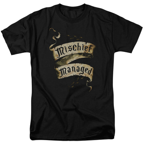 Harry Potter Mischief Managed Scroll Shirt