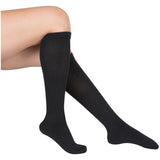 Evo Socks Women's Coolmax Compression Socks 15-20 mmHg - Black / Medium / 1 Pair - Socks - 1