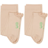 Evo Socks Women's Compression Socks 20-30 mmHg - Nude / Small / 2 Pair - Knee High - 10