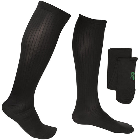 Evo Socks Men's Travel Compression Socks 8-15 mmHg - Black / Small / 1 Pair - Socks - 1