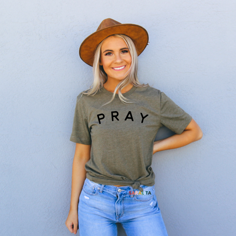 PRAY - Premium Tee-4 color options