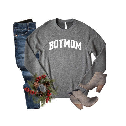 """BOYMOM"" SWEATER"