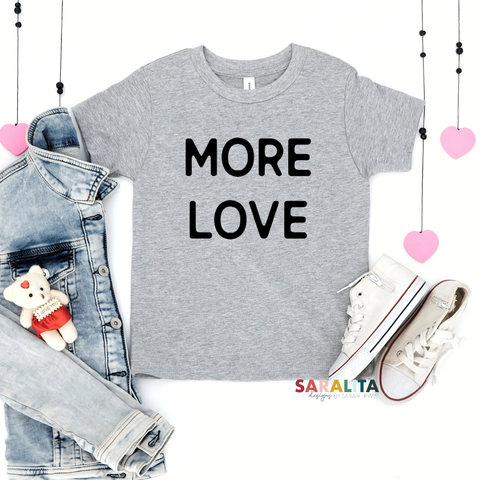 "YOUTH ""MORE LOVE"" - PREMIUM TEE"
