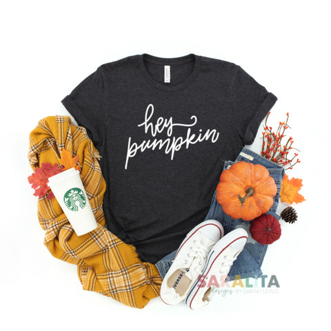 Hey Pumpkin Short Sleeve Tee