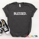 BLESSED.-Thanksgiving Premium Tee