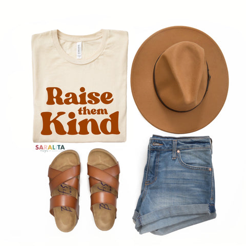 """Raise them Kind"" Premium Tshirt ***Limited Time Offer 40% off***"