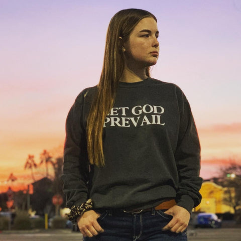Let God Prevail -Vintage Heavyweight Sweater