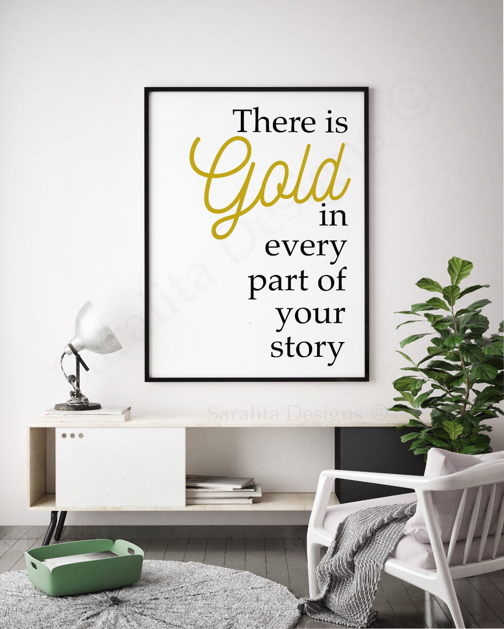 There is Gold in Every Part of Your Story