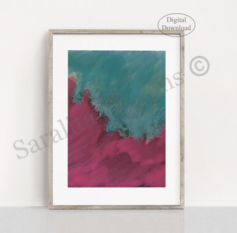 Wave Abstract-Digital Download