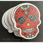 Sticker-Waterproof- Sugar Skull