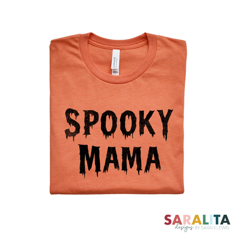 Spooky Mama Tee - Limited Time Offer 50% Off!!