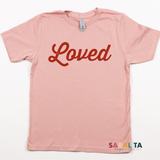 "YOUTH ""Loved"" - PREMIUM TEE"
