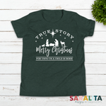 "Youth ""True Story"" Christmas Shirt"