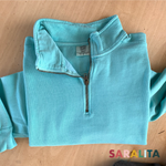 "Quarter Zip ""Comfort Colors"" Sweater"