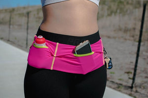The Stay Fit Running Belt is your ultimate storage solution for fitness or running!