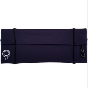 Navy Black Running Belt