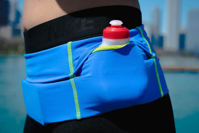 Blue Hydration Belt