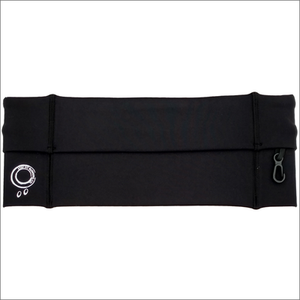 Black/Black Running Belt
