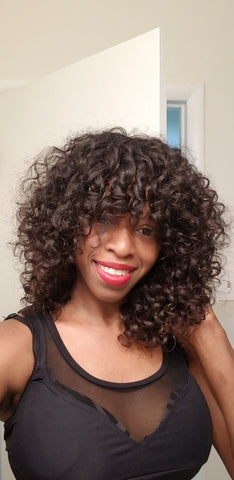 Nubian Loose Curl Unit with Raw Virgin Hair