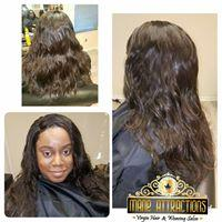 Raw  Virgin Remy Indian Hair Straight /Wavy/ Curly