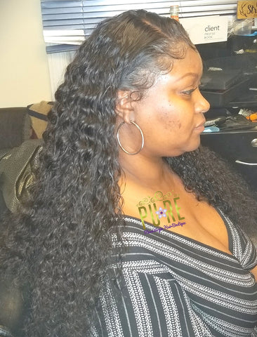Brazilian Virgin Remy Full Lace Unit