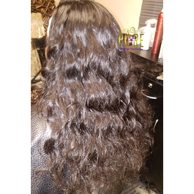 Raw Cambodian Virgin Hair Straight/Wavy *Very Popular.