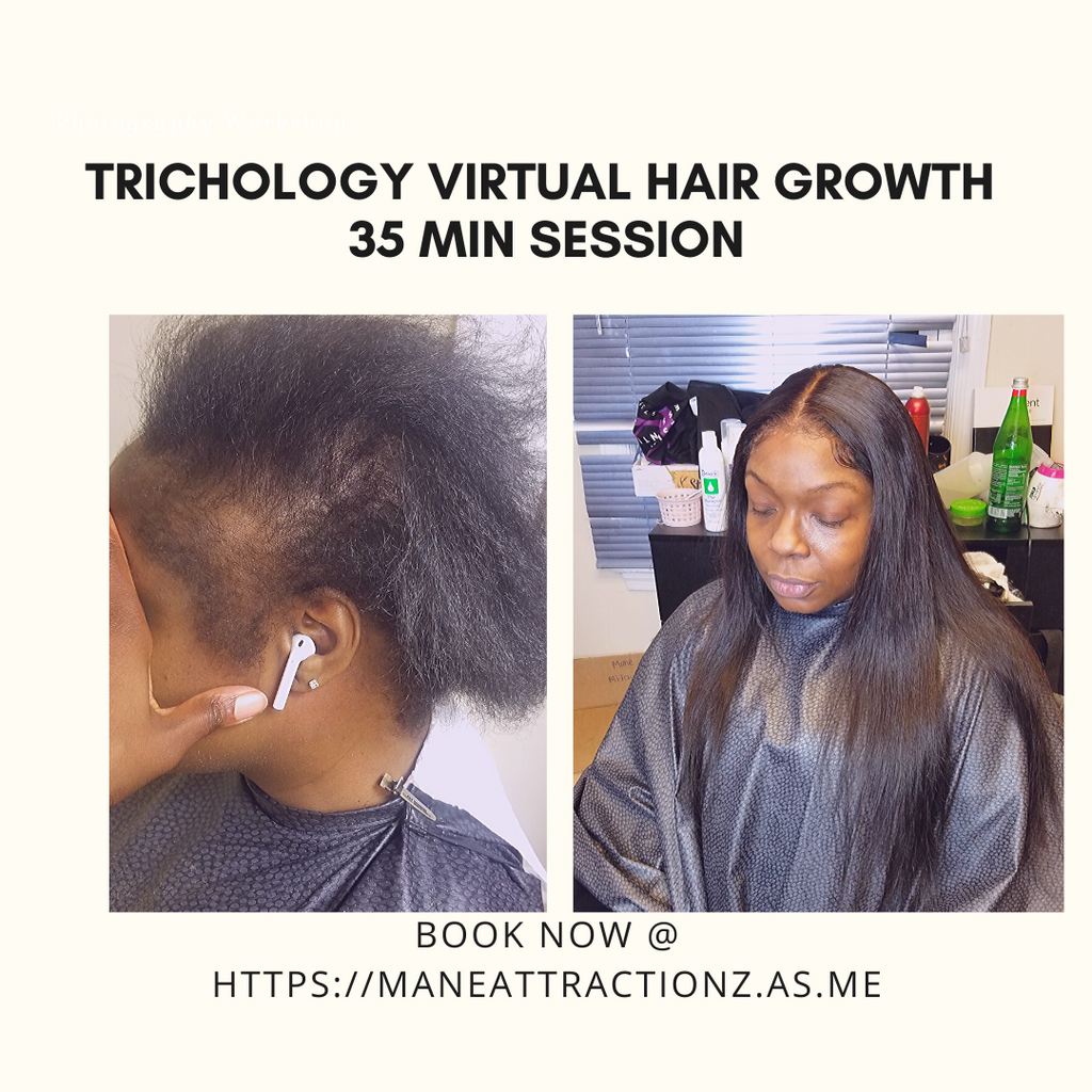 Your Virtual 10 Minute Hair Session Free