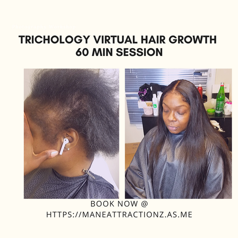 Your Virtual 60 Minute Hair Session
