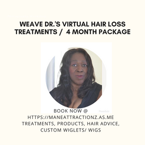 Growth Diva Package $115 Per Month Hair Loss Program *4 Month Plan