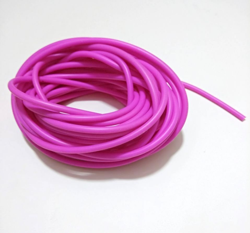 Feeder tube (pink,outer diameter 4.3 mm / inner  diameter 2.7mm)