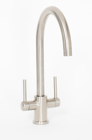 Brushed Steel Kitchen Sink Mixer