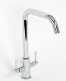 CHROME SINK MIXER, LEVER MIXER