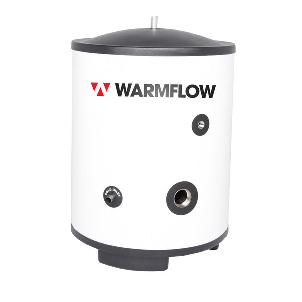 WARMFLOW DIRECT UNVENTED STAINLESS STEEL CYLINDER