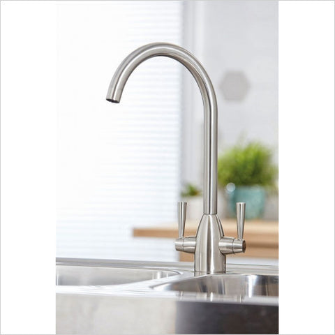 Marlo Kitchen Sink Mixer (Brushed Steel)