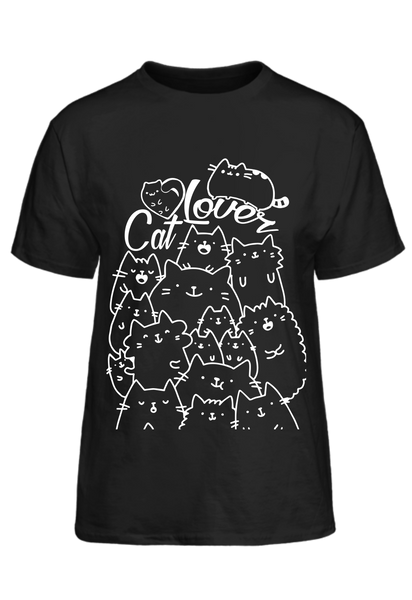 Cat Lover Cats Basic Tee