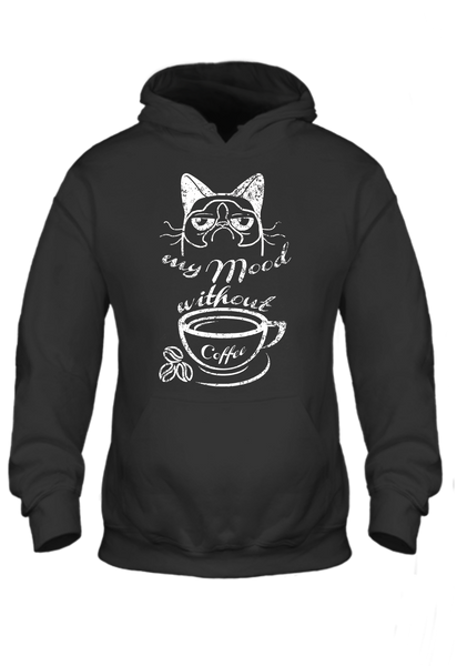 My Mood Without Coffee Standard Hoodie