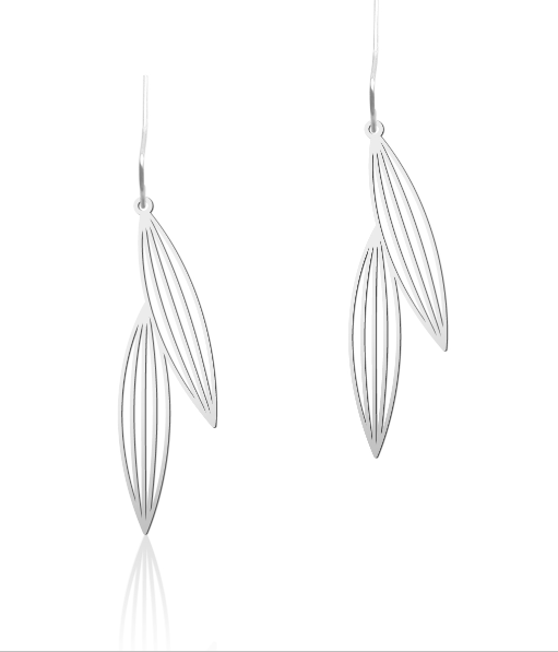 Two Sasagrasses Earrings