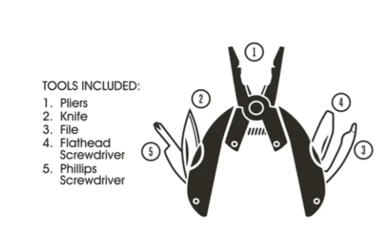 Multi Tool Pliers (Pocket)