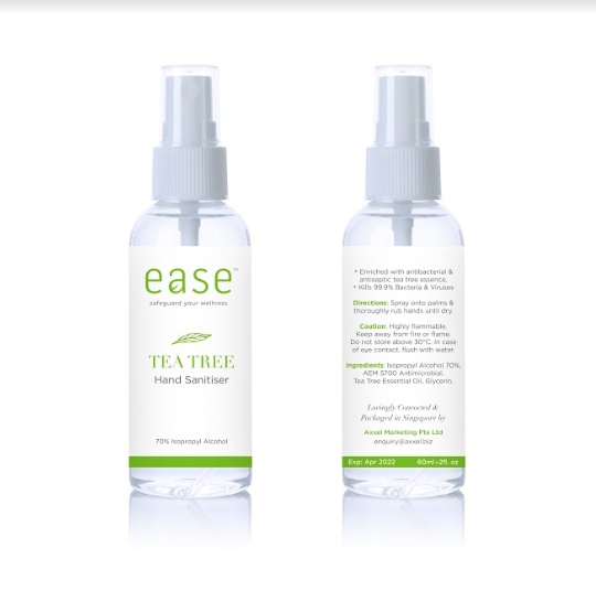 EASE™ TEA TREE Hand Sanitizer - 60ml