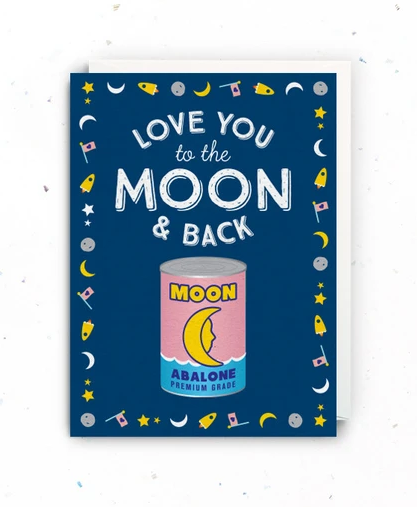 Cards - Moon & Back