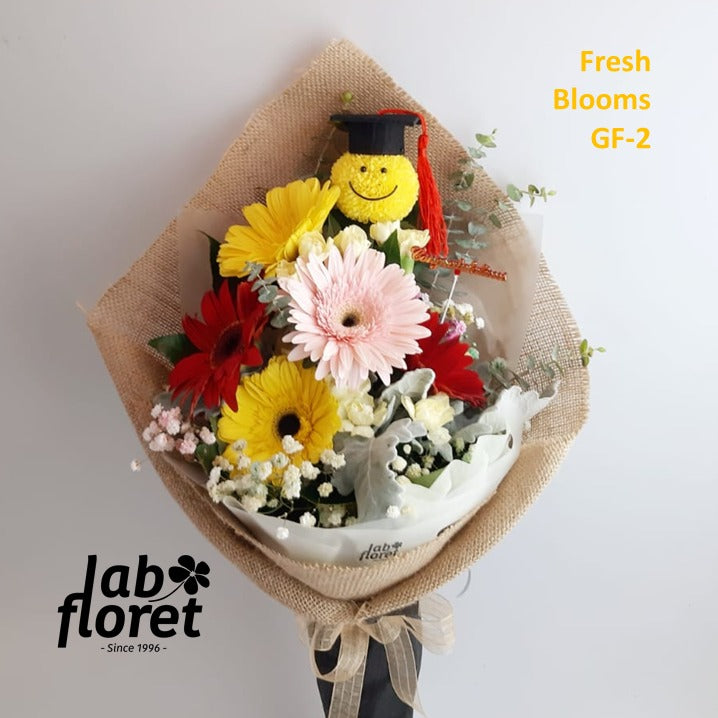 GF-2 Graduation Bouquet